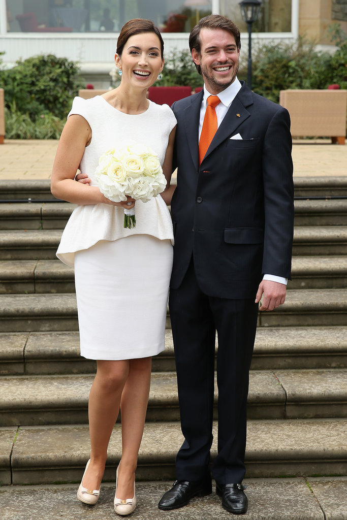 Prince Félix of Luxembourg and Claire Lademacher The Bride: Claire Lademacher, a doctorate student and the daughter of German telecommunications mogul Hartmut Lademacher. The Groom: Prince Félix of Luxembourg, the second son of the Grand Duke of Luxembourg. When: Sept. 17, 2013 Where: Königstein, Germany