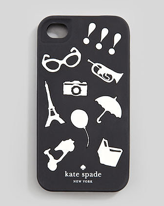 kate spade new york favorite things iPhone 4 jelly case