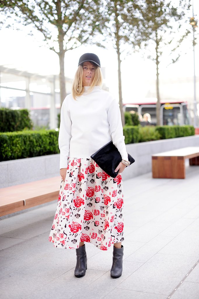 Proof: florals don't have to be girly.