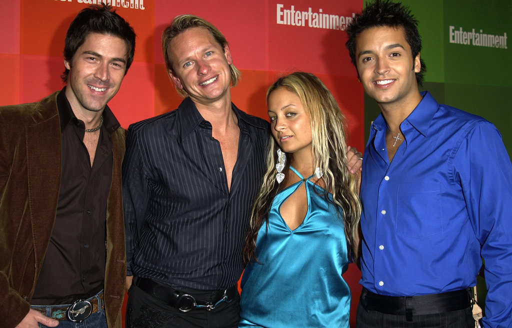 Nicole hit up a pre-Emmys party in September 2003 and posed for photos with some cast members from Queer Eye For the Straight Guy (remember that show?).
