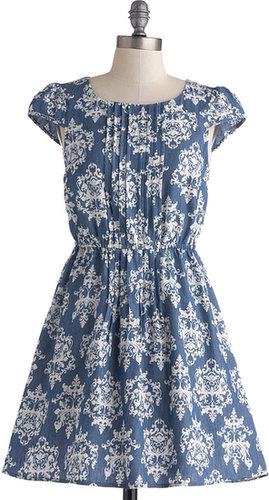 Charming Chambray Dress