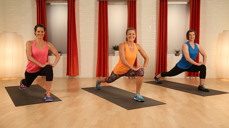 Stretching exercises entire body video
