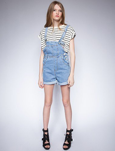 Wear these Pixie Market denim suspend