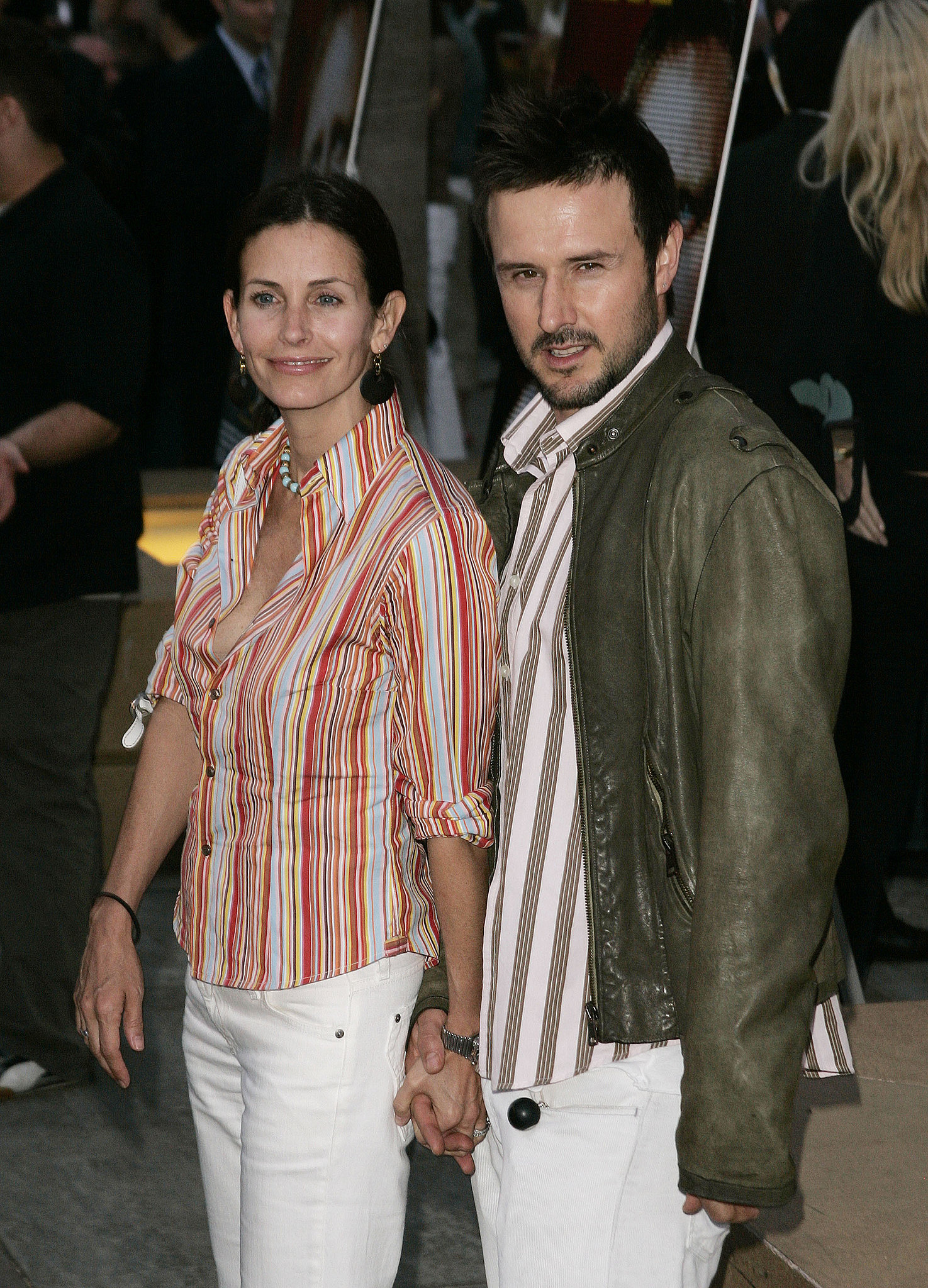 David Arquette and Courteney Cox | Two of a Kind: Matchy ...