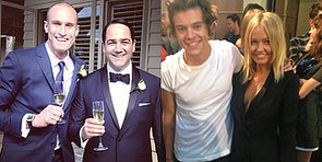 Harry Styles, Weddings and More of the Week's Cute Celebrity Candids