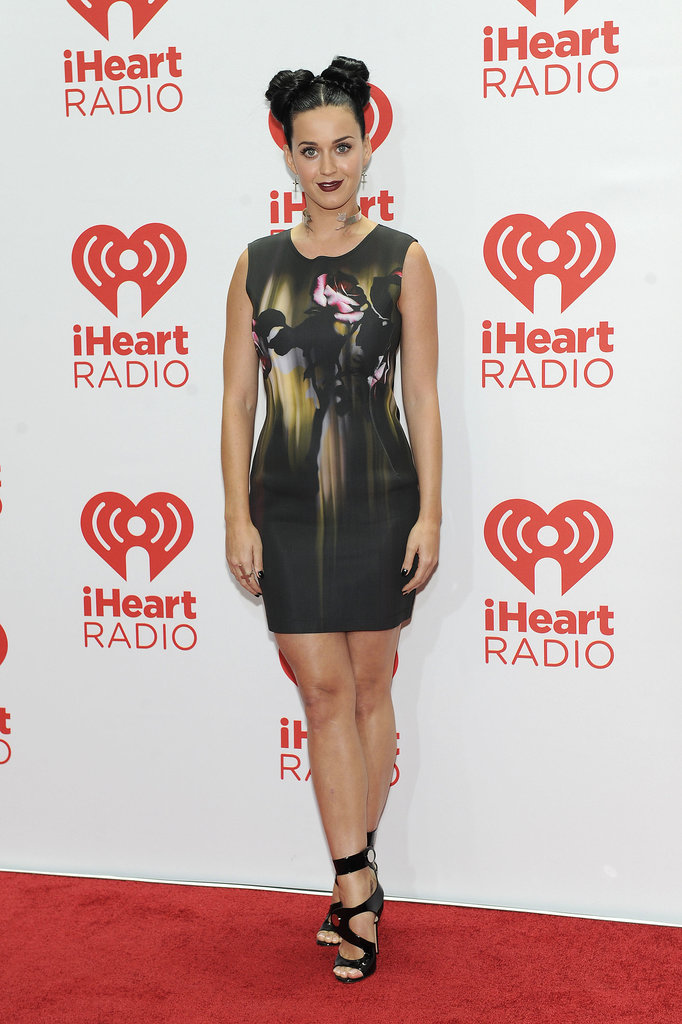 Katy Perry worked her stuff on the red carpet.