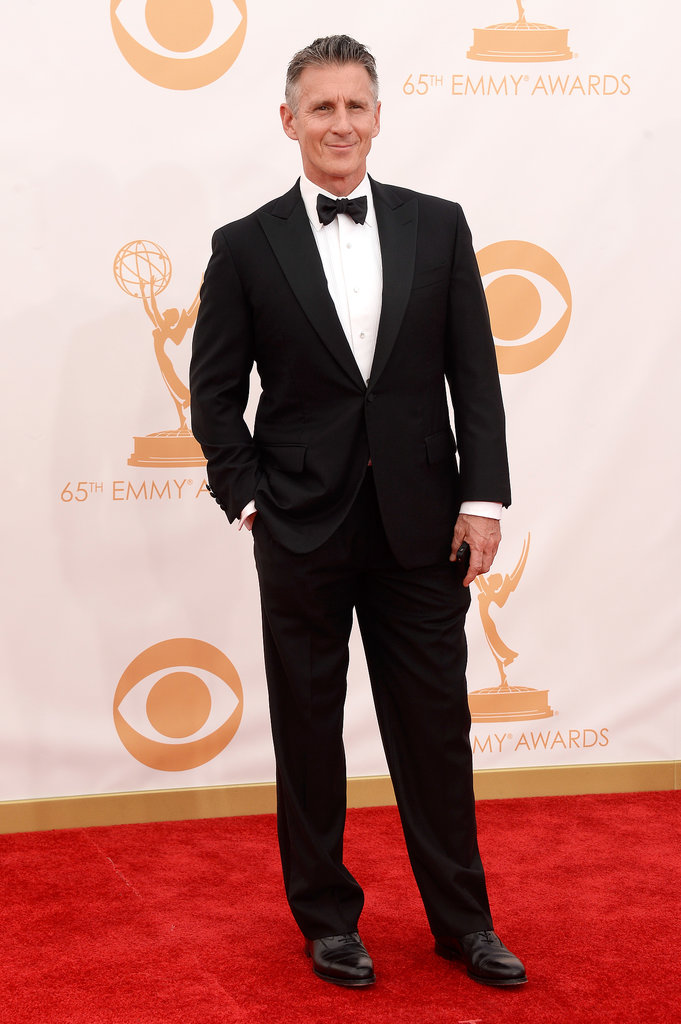 Actor Christopher Stanley attended the 2013 Emmy Awards.