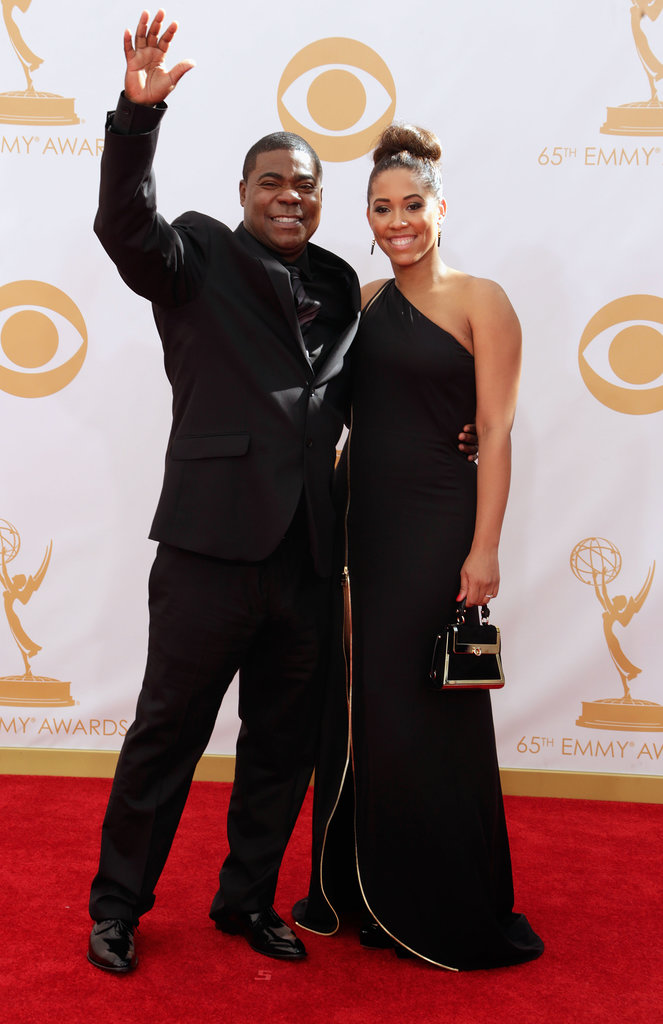 Tracy Morgan gave a wave while walking the red carpet.