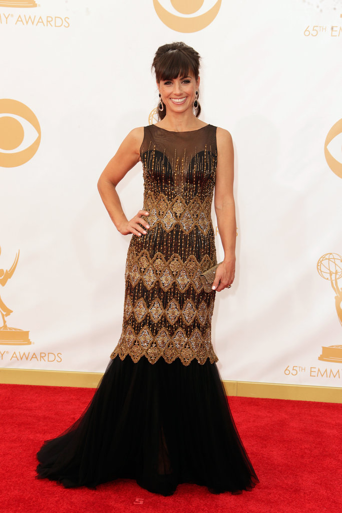 Constance Zimmer attended the 2013 Emmys.