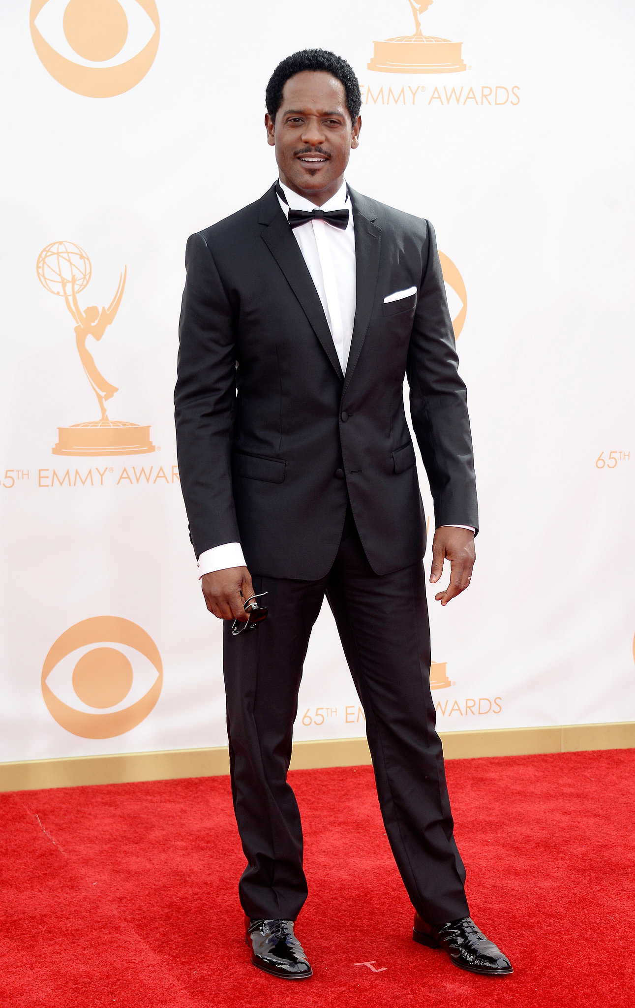 Actor Blair Underwood hit the Emmys red carpet.
