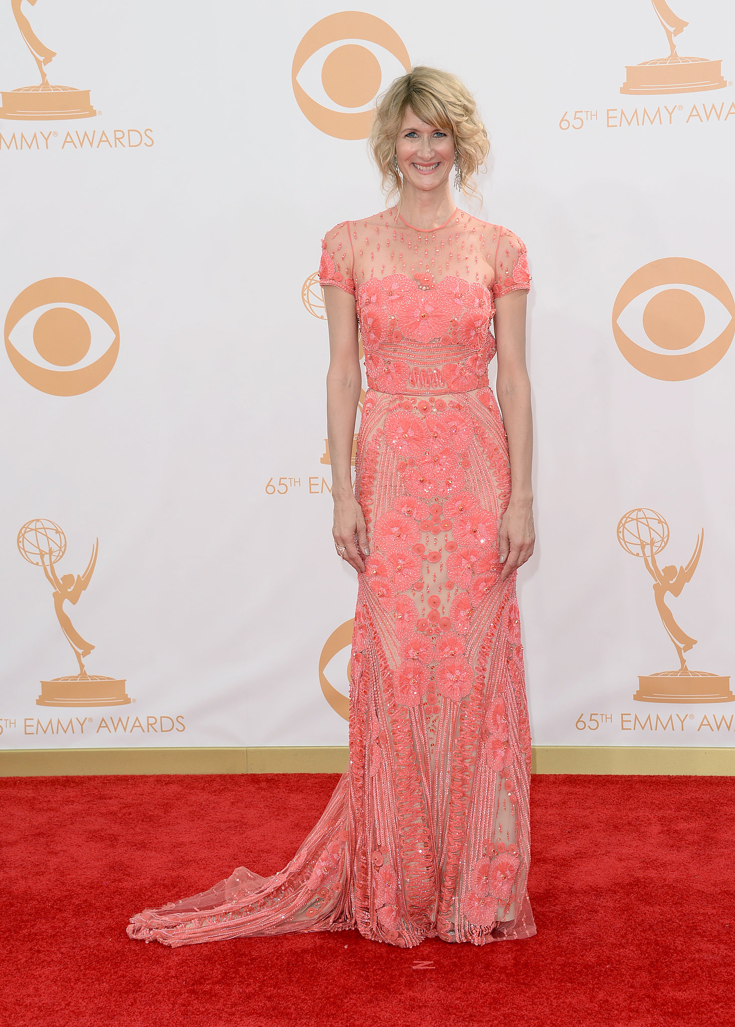 Laura Dern attended the Emmys.