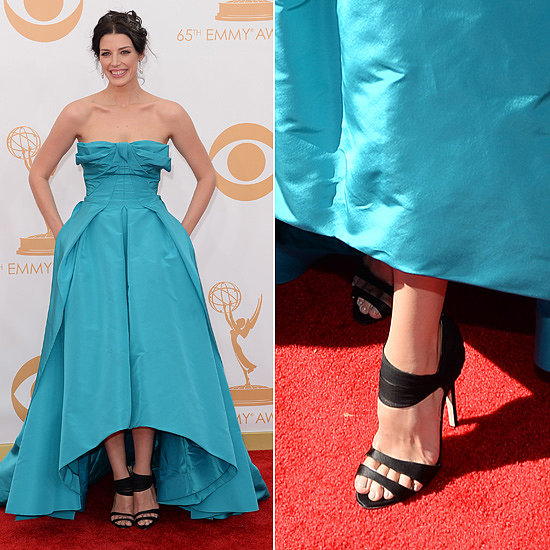 Jessica Pare Dress at Emmys 2013 | Pictures