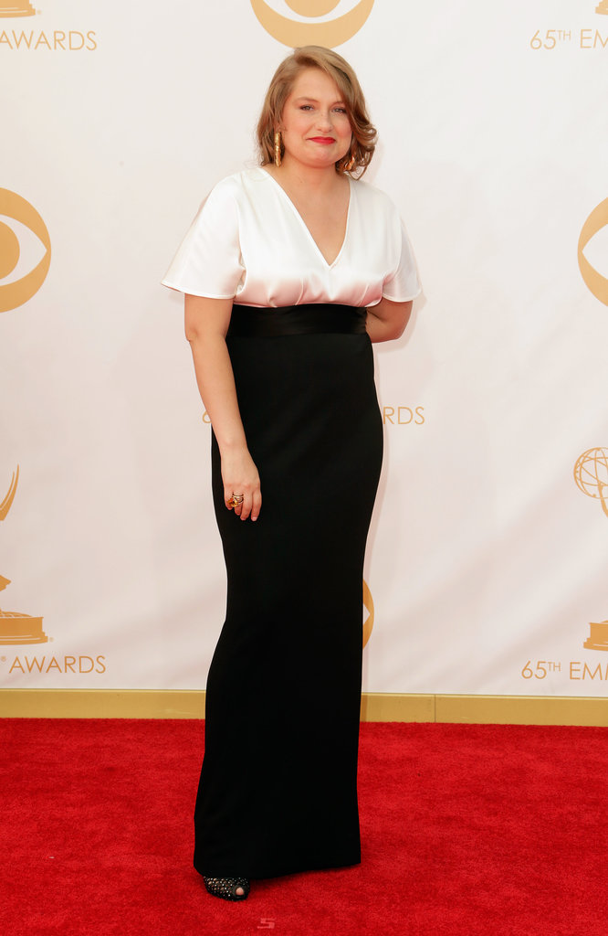 Black and white was an easy choice for Merritt Wever.