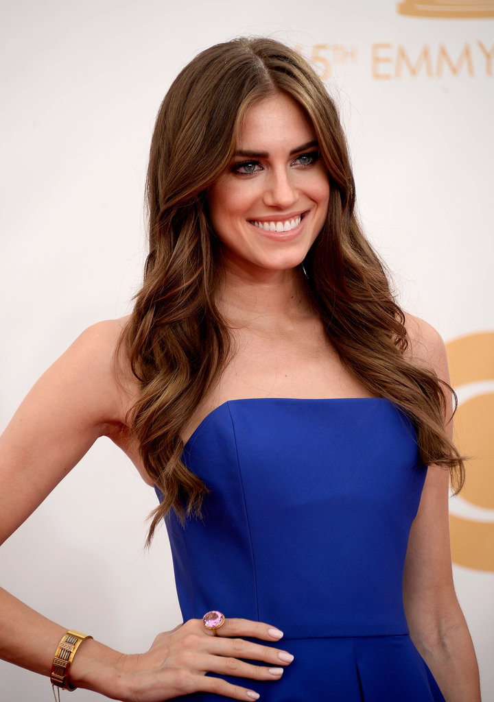 Allison Williams at the Emmy Awards