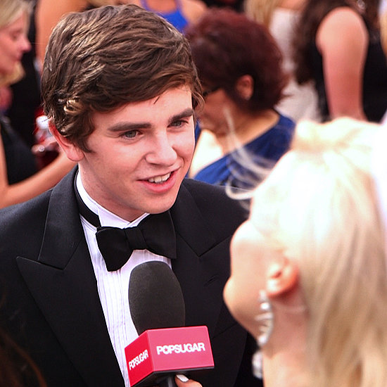 Freddie Highmore Interview at the Emmys 2013 | Video