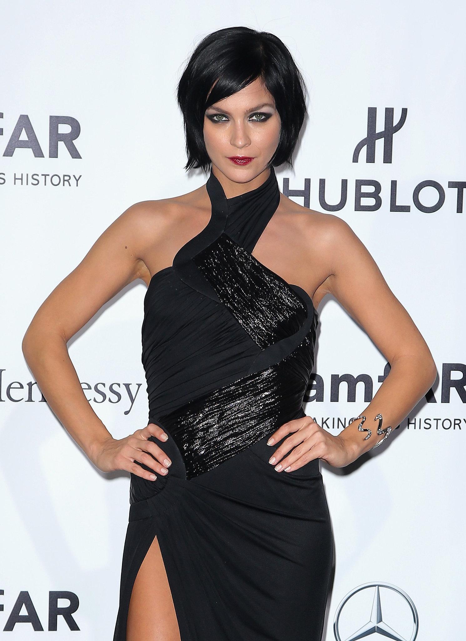 Leigh Lezark at the amfAR Milano Gala.