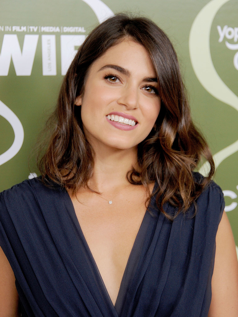 Nikki Reed's simple makeup and curled lob were the ideal laid-back look for the Variety Pre-Emmy Party.
