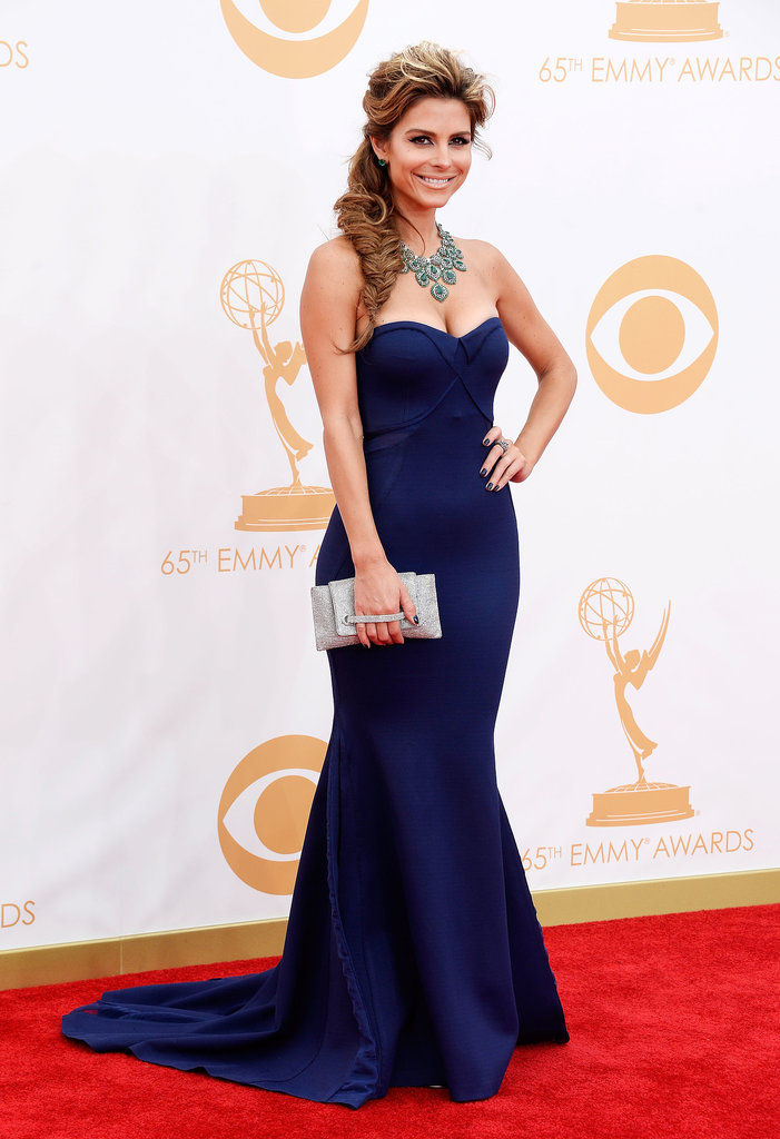 Maria Menounos hit the red carpet for the Emmys.