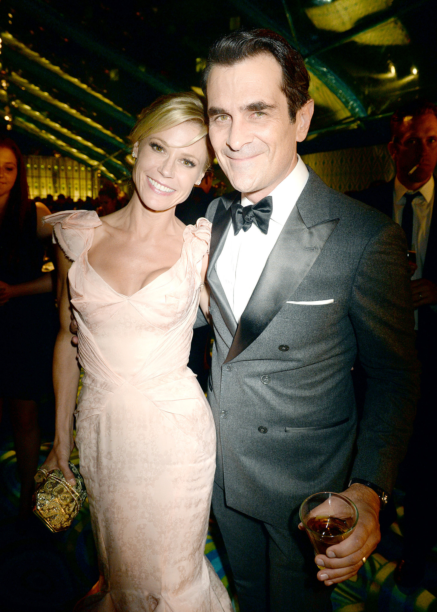 Julie Bowen and Ty Burrell met up at the 2013 HBO Emmys afterparty.