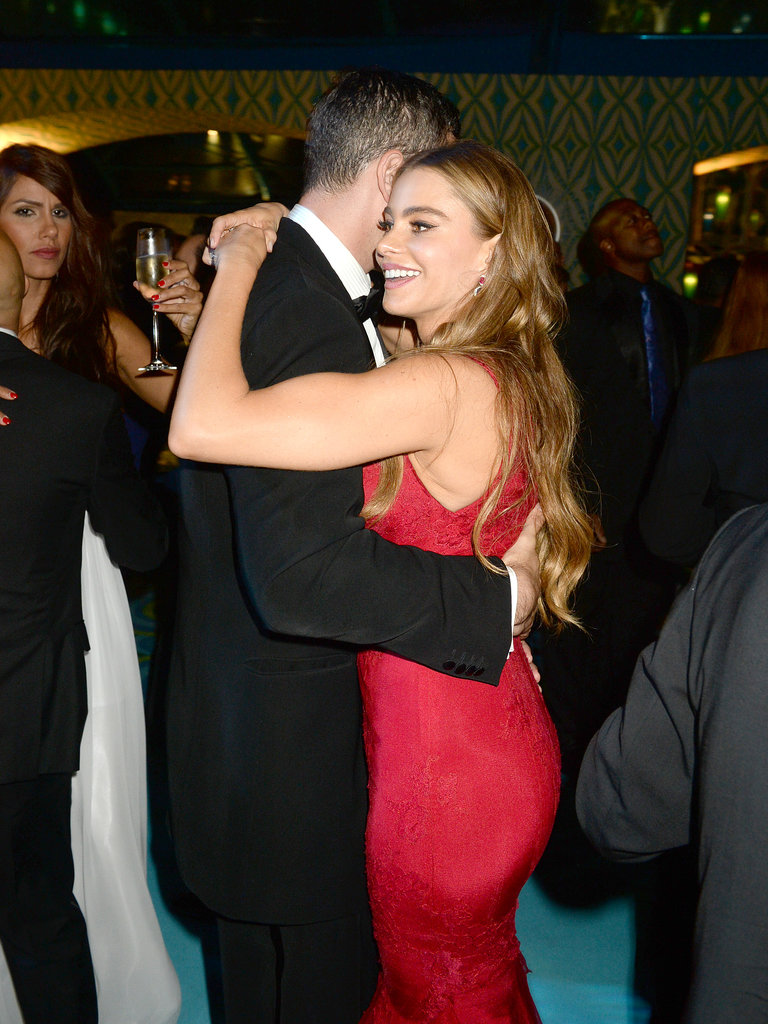 Sofia Vergara danced with Nick Loeb.