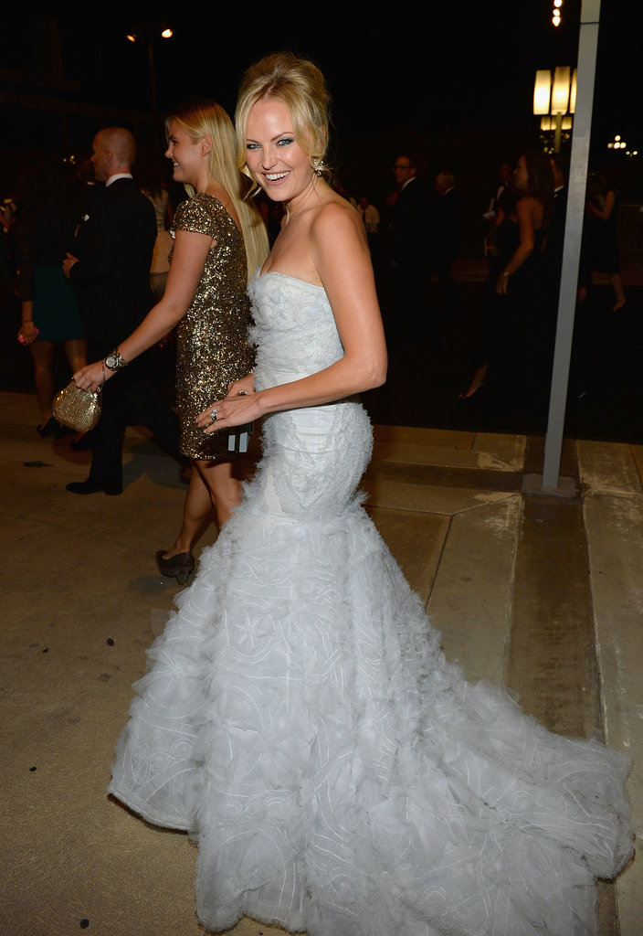 Malin Akerman attended the 2013 Emmys Governors Ball.