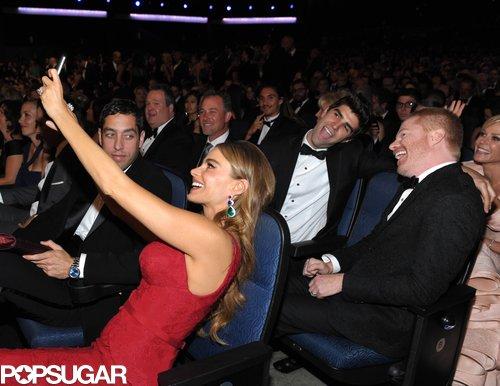 Sofia Vergara took a selfie with her costars.