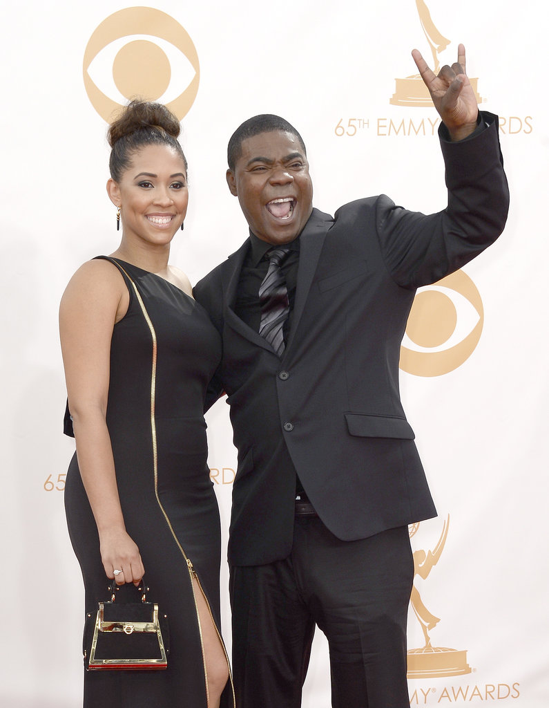 Tracy Morgan and his fiancé, Megan Wollover, were ready for a good time.