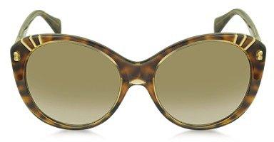 Alexander McQueen AMQ4230/S Sonnenbrille mit runden Gläsern