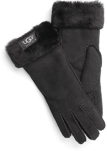 Handschuhe CUFF GLOVE von UGG in schwarz für Damen. Gr. 1