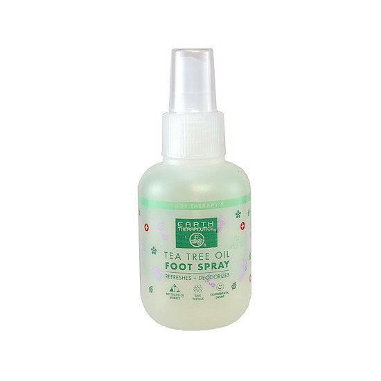 Revive tired feet with the Earth Therapeutics Tea Tree Oil Foot Spray ($9). It's packed with tea tree oil to naturally fight bacteria, deodorize, and soothe worn-out soles.