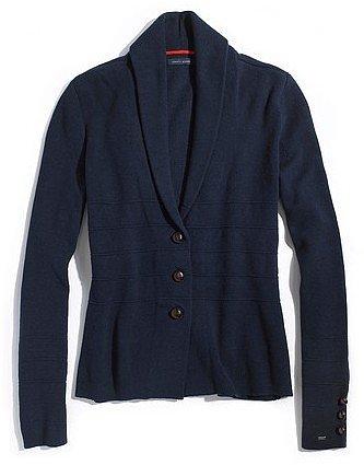 Tommy Hilfiger Women's Solid Sweater Blazer