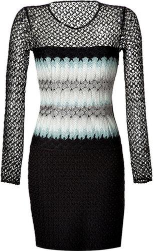 Missoni Mixed Knit Dress