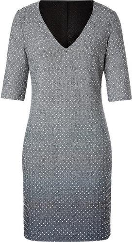 Missoni Wool Blend V-Neck Dress