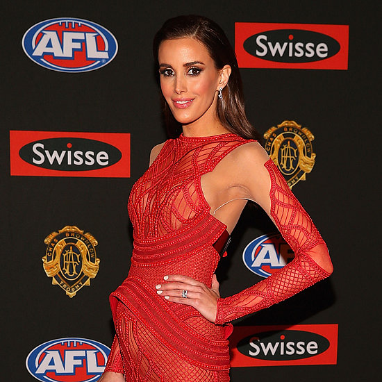 2013 Brownlow Medal AFL Stars and WAGs Red Carpet Pictures