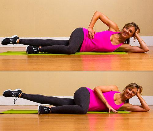 Lower Body: Pilates Side-Lying Leg Lifts