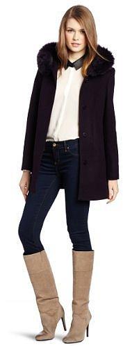 Kristen Blake Women's Fly Front Hoode...