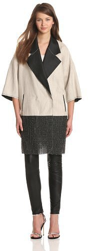 Tracy Reese Women's Combo Clutch Coat