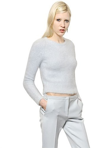 N°21 - Angora Knit Crew Neck Jumper