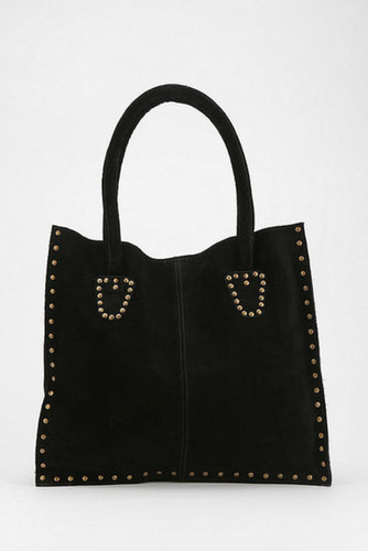 Ecote Suede Studded Tote Bag