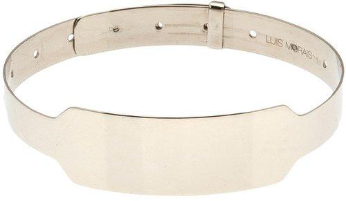 Luis Morais id white gold cuff