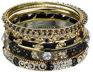 Bracelets multicolores flashy baroques