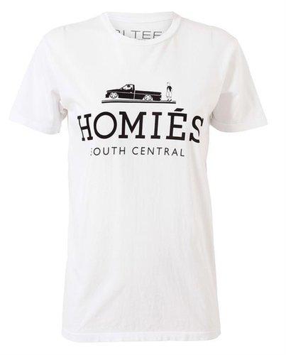 BRIAN LICHTENBERG Unisex 'Homies' Cotton T-Shirt