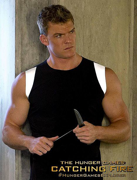 Alan Ritchson plays former victor Gloss.