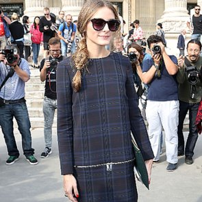 Olivia Palermo at Carven Spring 2014 Fashion Show