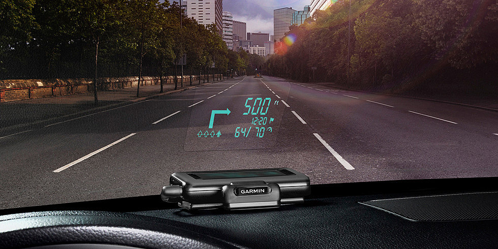 GPS Windshield Display: Dope or Distracting?
