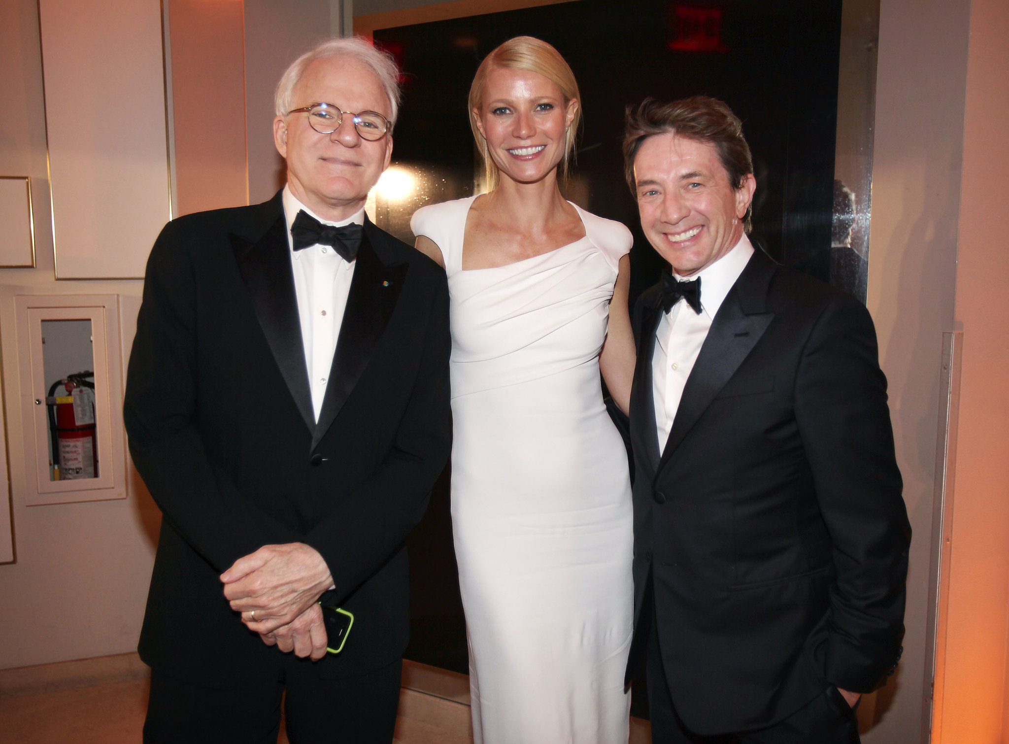 Photo of Martin Short & his friend  Steve Martin