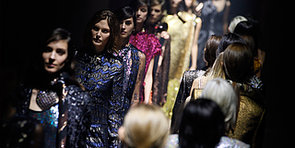 An Army of Grunge Glamazons at Lanvin