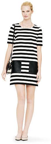 Haley Striped Knit Dress