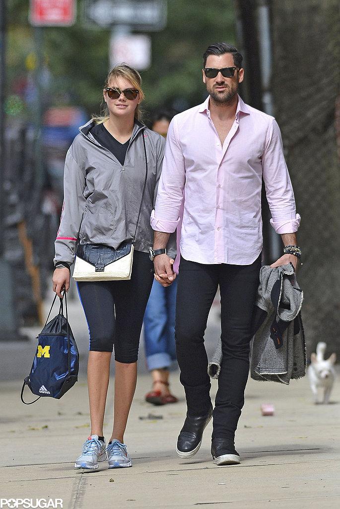 Kate Upton and Maksim Chmerkovskiy Go Public With Sweet PDA