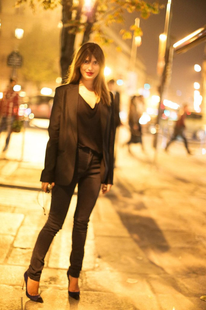 In Paris, Jeanne Damas wrapped up her night with Made.